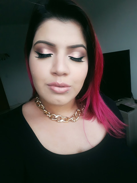 Maquiagem Rose Gold