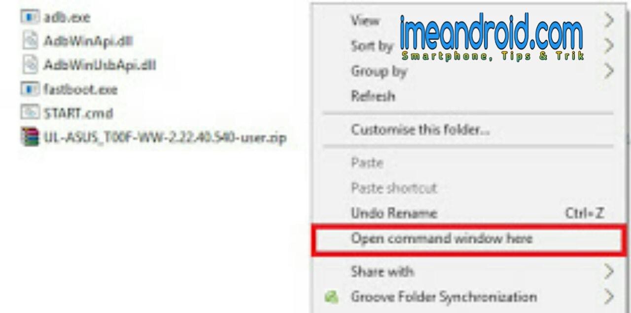 2 Cara atasi bootloop asus zenfone 5 ( via Adb FastBoot Tool dan