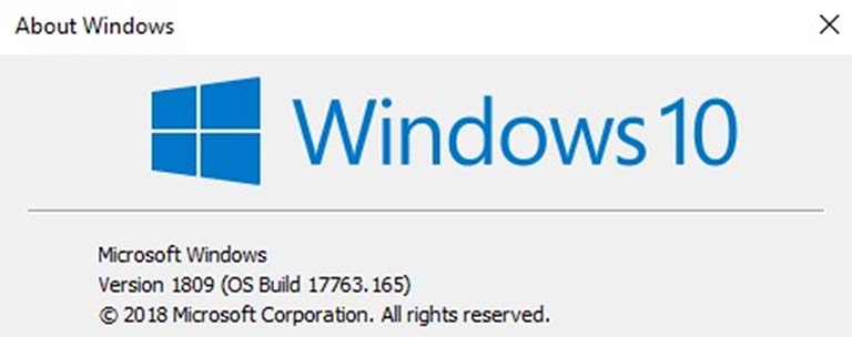 Windows 10 October Update Dapat Build 17763.165 Untuk Release Preview Ring