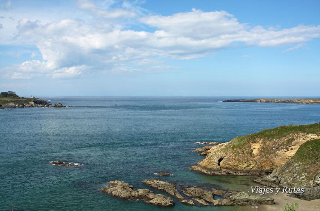 Ribadeo desde Asturias