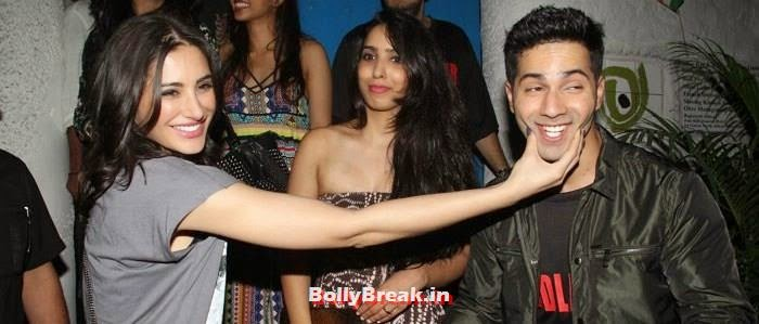 Nargis Fakhri, Varun Dhawan, Varun, Yami, Shruti, Nargis Pics from Badlapur Movie Wrap up party