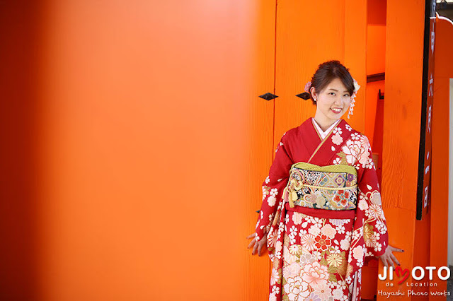 京都成人式前撮り撮影