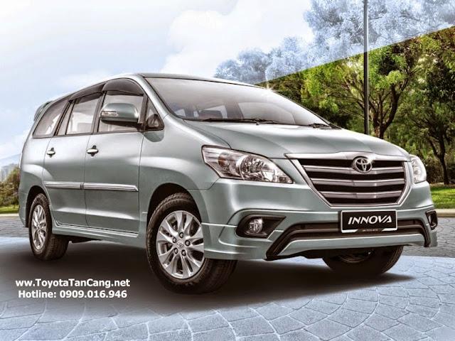 Innova có động cơ tiết kiệm nhiên liệu