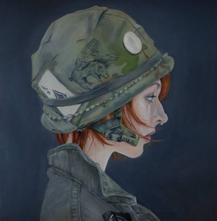 Ирландский художник. Ryan Oneill