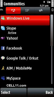 Face Book For Nokia 5233