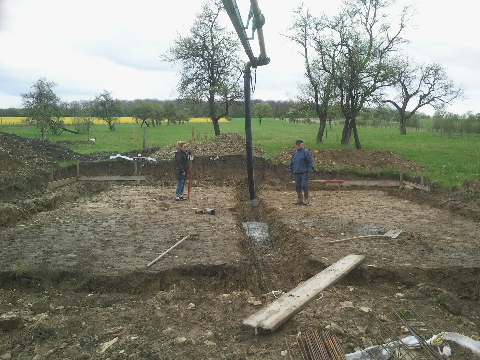 Construction Euromac2 2012 13 Coulage Des Fondations