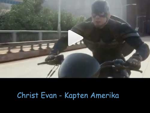 captain america christ evan