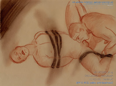dessin pornographique bondage gay
