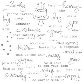 Endless Birthday Wishes, Stampin' Up!