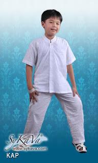 Baju Muslim Putih Untuk Anak Laki Laki