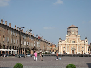 The Piazza Martiri is Italy's third largest square