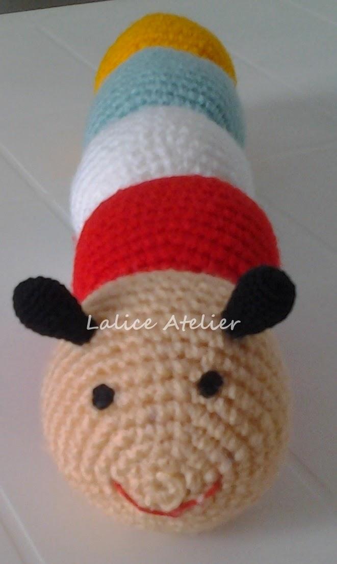 decoração bebê, amigurumi, centopeia,bichinhos crochê