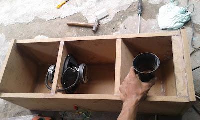 Design subwoofer box audio