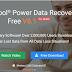أفضل برنامج لإسترجاع الملفات المحذوفه سيريالminitool power data recovery 7.5