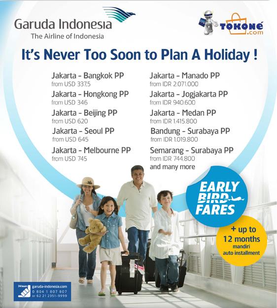Info Promo Kartu Kredit Promo Tiket Murah Garuda Indonesia