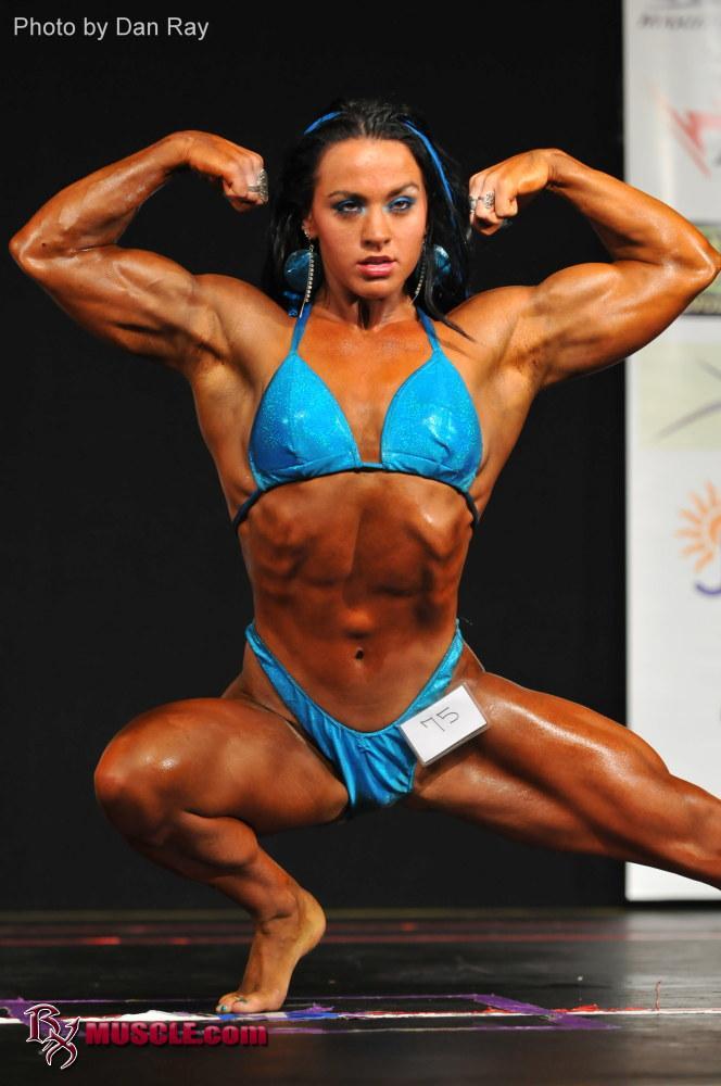 Female Bodybuilder Hayley McNeff - 2011 NPC Team Universe - 5th Place Heavyweight
