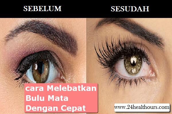 Cara melebatkan bulu mata