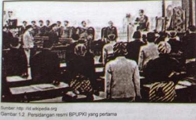 Artikel Singkat Tentang Pembentukan  BPUPKI