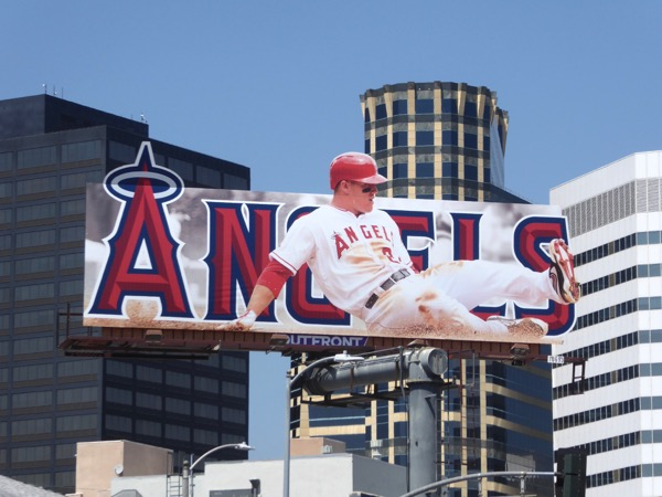 LA Angels of Anaheim baseball billboard