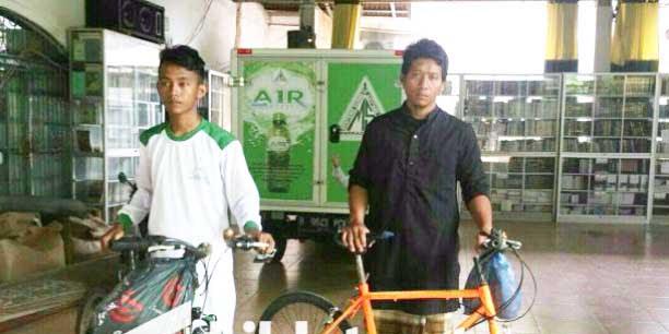 Dua Remaja Asal Banyuwangi Nekad Bersepeda ke Jakarta Demi Reuni Akbar 212