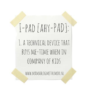 oneliner mommy i-pad