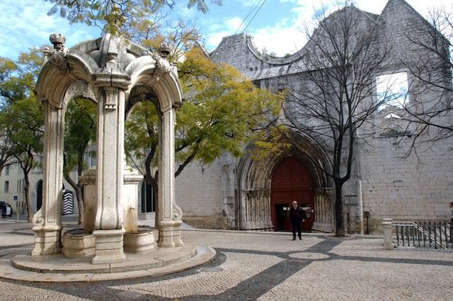 Como chegar ao Convento do Carmo