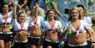 sexiest cheergirls & Cheerleaders in ipl