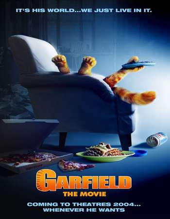 Garfield 2004 Hindi Dual Audio BRRip Full Movie Download