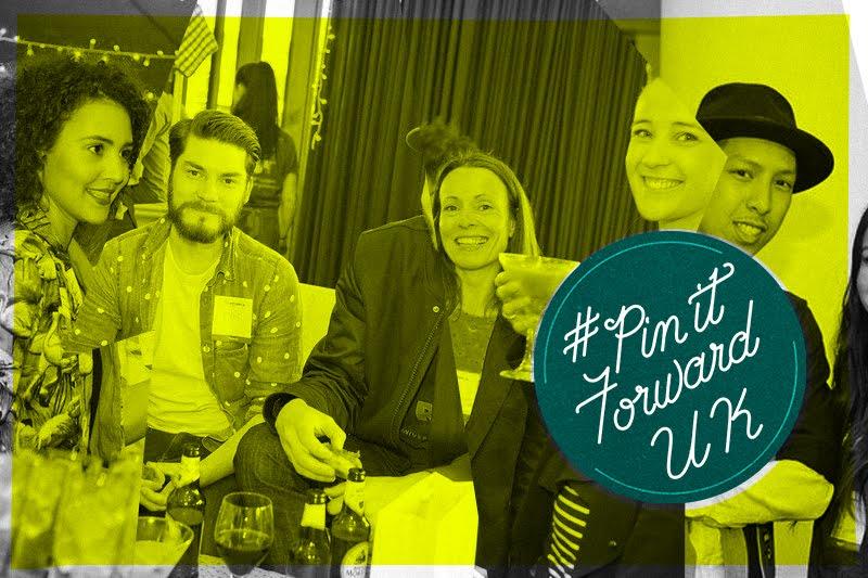 Mark Rigney from Hookedblog at Pinterest's Pin It Forward London Launch