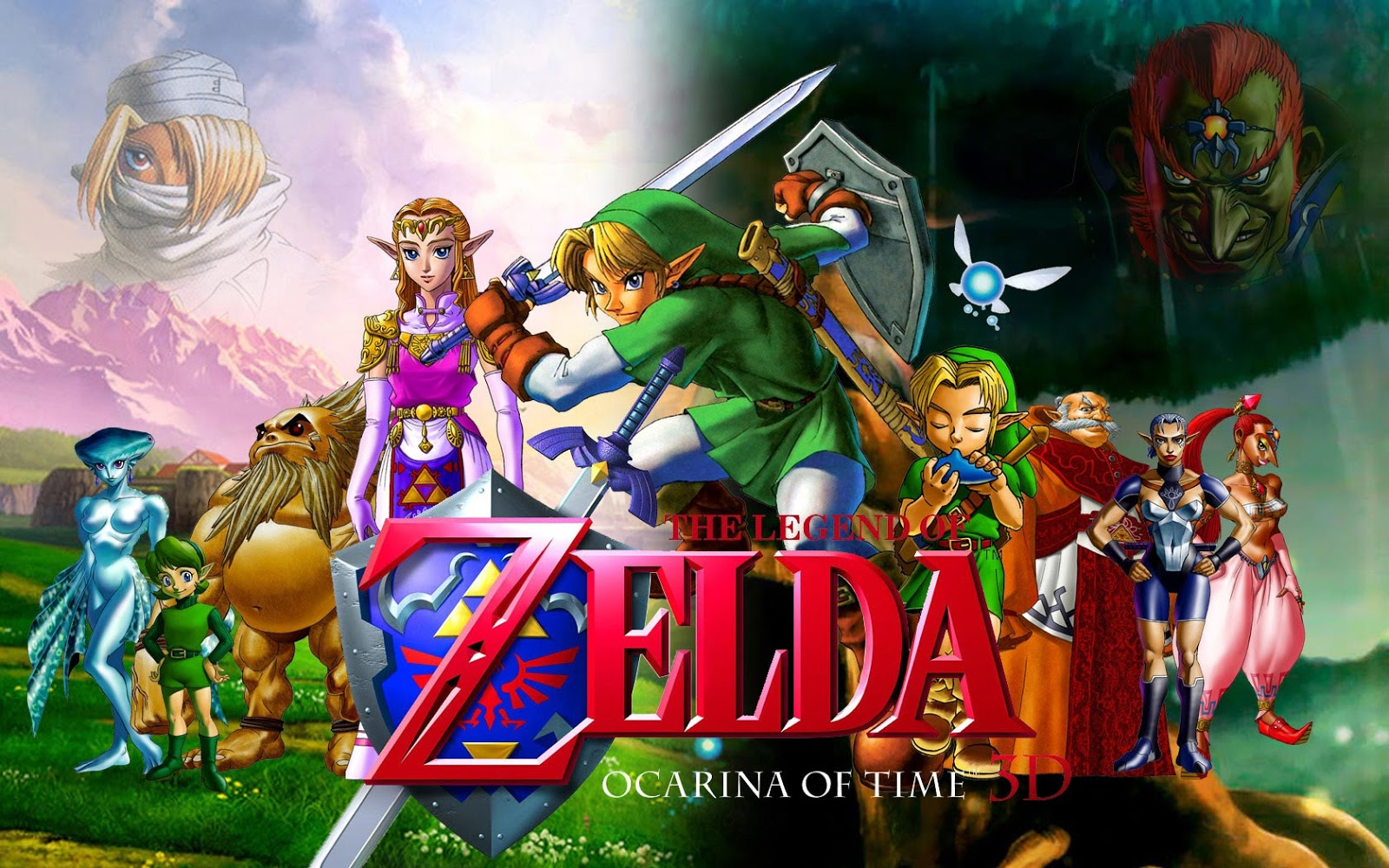 Download the legend of zelda: ocarina of time android games apk.