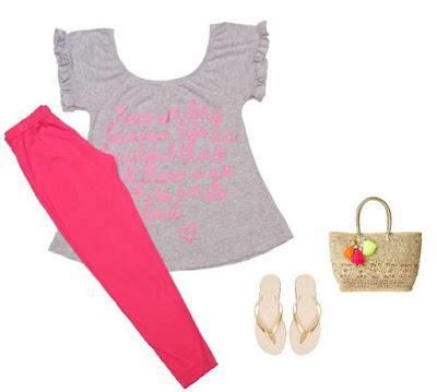 Moda en prendas de nena primavera verano 2018.