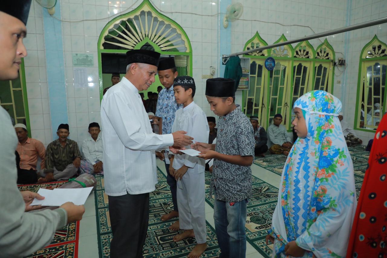 Plt Bupati Asahan Surya di acara safati ramadan pemkab.