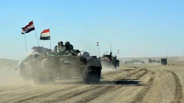 استنفار أمني عراقي على الحدود مع سوريا.؟