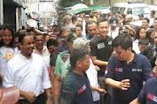 Agus Yudhoyono dan Anies Baswedan Sama-Sama Blusukan di Tambora