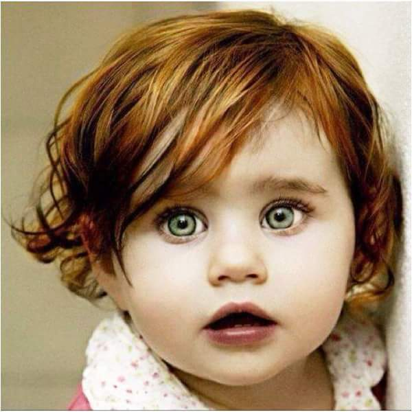Bayi Bermata kehijauan