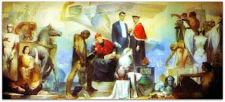 As Profissões - Aldo Locatelli (Mural, 1958)