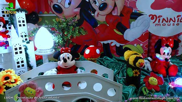 Mesa infantil Minnie tradicional luxo