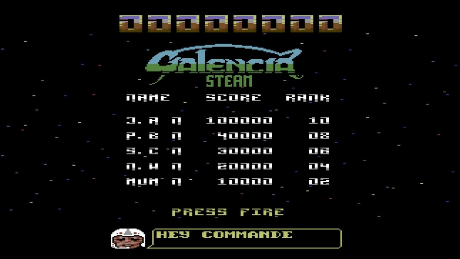 Galencia (2018) C64 Gaming is Back | Gaming Backlog