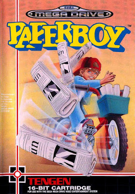 Rom de Paperboy - Mega Drive - PT-BR