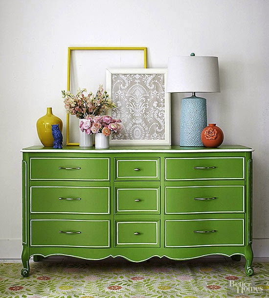 Before And After Merging Two Rooms Has Created A Super: Before & After Furniture Makeovers