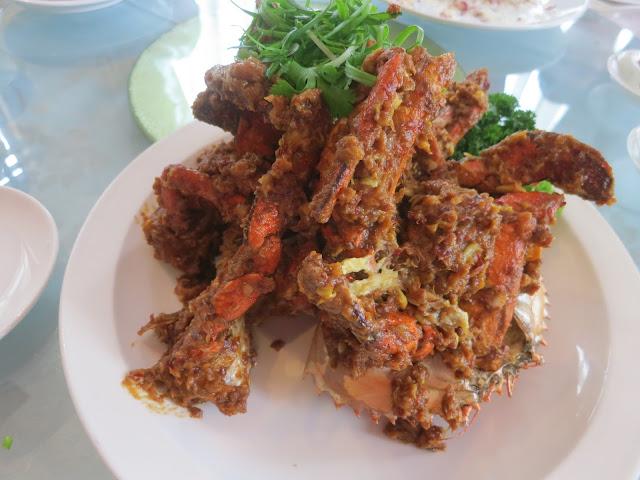 猫山王榴梿炒螃蟹