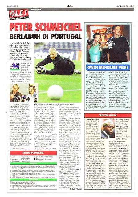 PETER SCHMEICHEL BERLABUH DI PORTUGAL