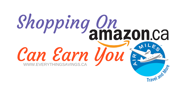 Earn Air Miles When Shopping on Amazon