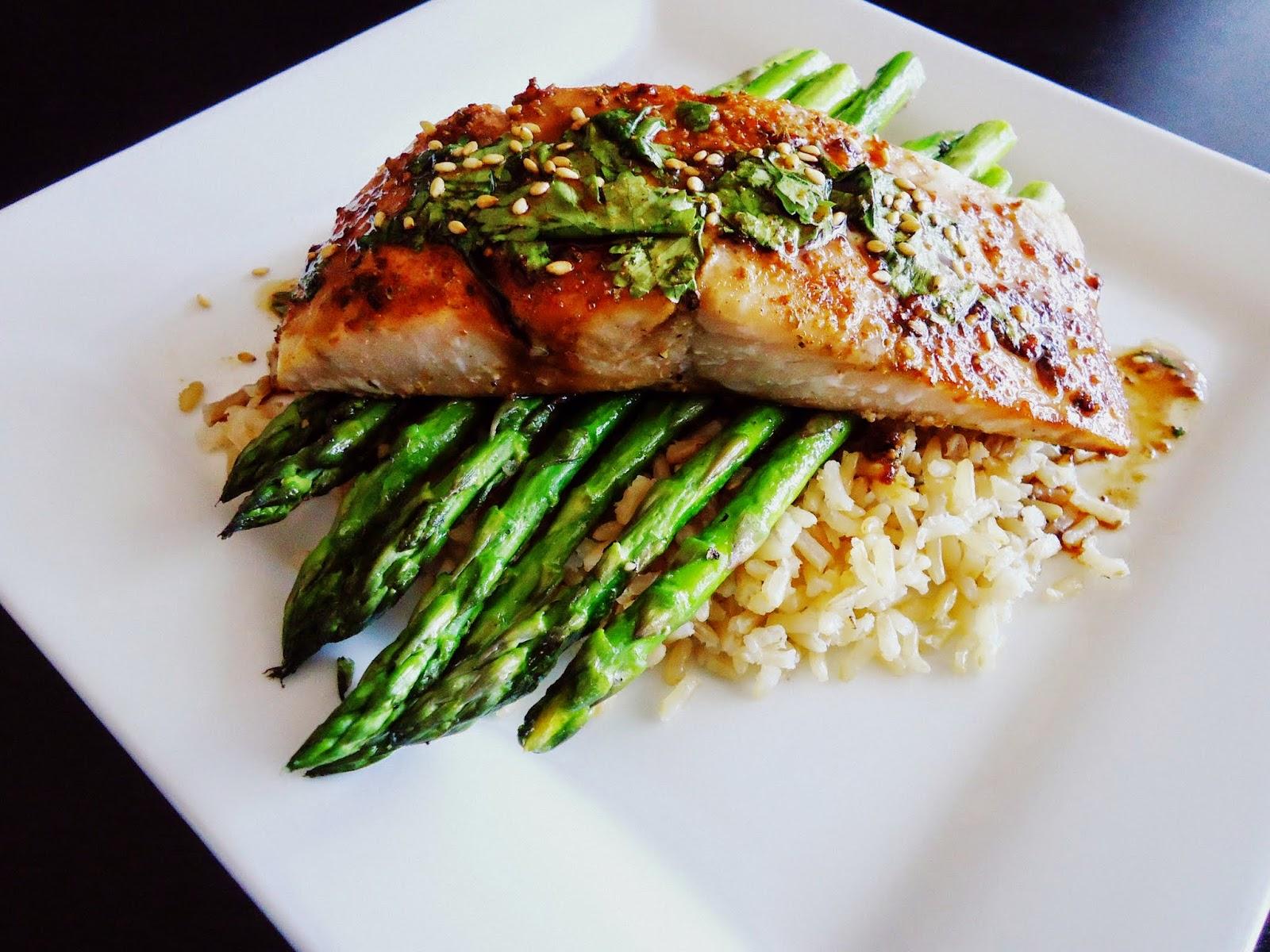 Foodie & Fabulous: Asian Glazed Sesame Salmon with ...