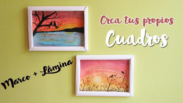 Dreams of Love: Crea tus propios cuadros - Láminas + Marco   DIY ...