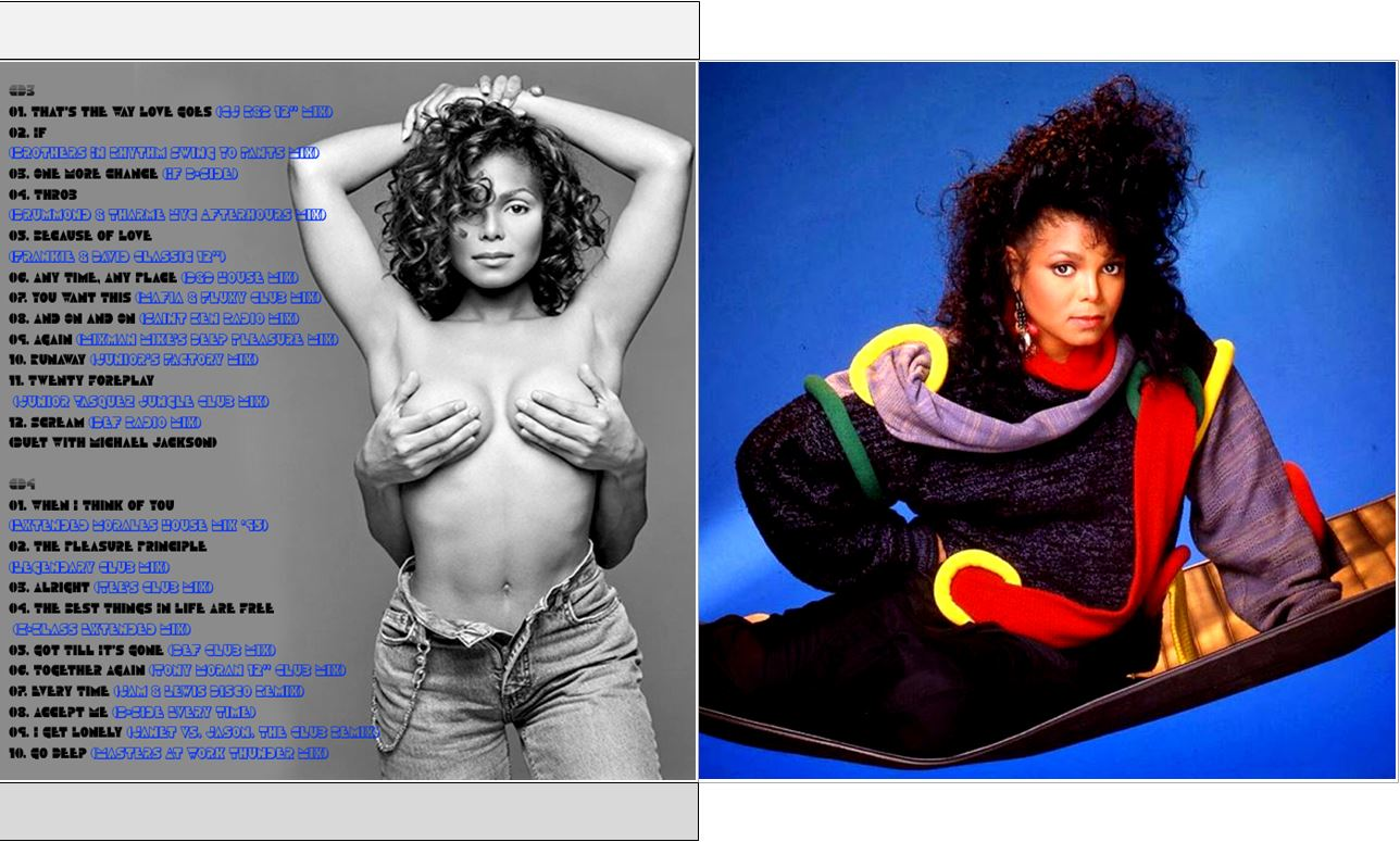 MUSICOLLECTION: JANET JACKSON - The Complete Decade Remixes