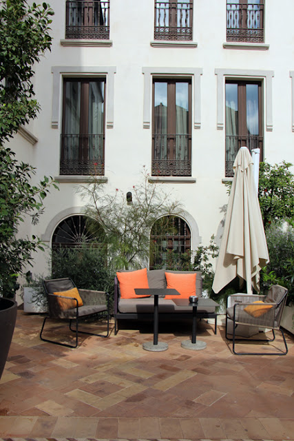 Hotel Palacio de Villapanés - Patio