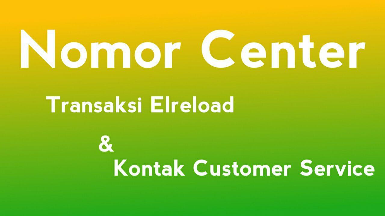 Nomor Sms Center Elreload