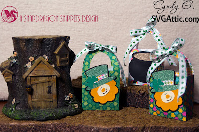 St Patrick's day treat bags