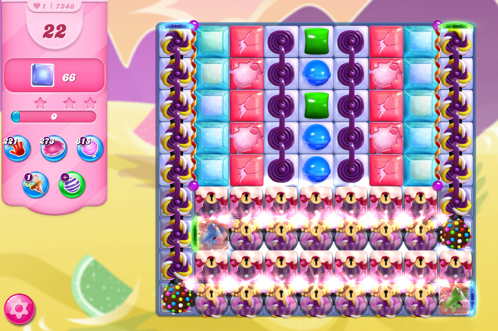 Candy Crush Saga level 7548